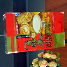 Hot sale eco resealable plastic cookie packaging food bag
