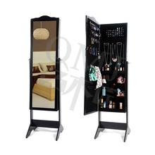 Free Standing Mirrors Dresser Full Length Floor Mirror Jewelry Cabinet Organizer