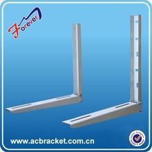 Professional Manufacturer! Cold Rolled Steel black metal l bracket, Variety types of bracket