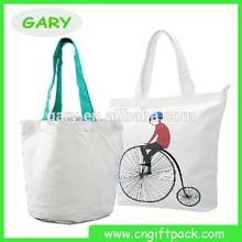 Custom Promotional Plain White Cotton Tote Bag