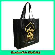 Best Selling Tote Shopping Bag,Black Reusable Shopping Bag With Logo