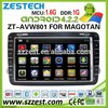 ZESTECH 8 inch HD LCD touch screen Car dvd player for VW golf 5 with gps navigation, wifi, BT, FM/AM, RDS, IOPD, 3G (ZT-AVW801)