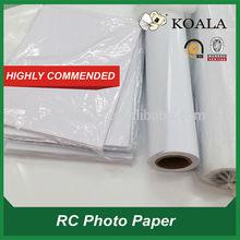 "190g/240g/260g Inkjet 24"" roll rc glossy photo paper,24"" semi matte paper"