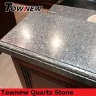 hot sales polished sparkling modern quartz stone kitchen top TNK-3081