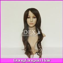 2014 Hot selling long synthetic wigs wholesale cheap synthetic lace front wigs body wave