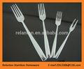Grado superior de acero inoxidable Set tenedor de fruta tenedor