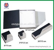 2015 Elegant Design Custom Paper Gift Packing Box Paper Cardboard Box Jewelry Box