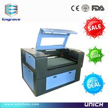 UNICH brand high quality mini laser engraving wood machine