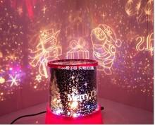 Romatic Star Projector Lamp Night Light Constellation Lover Star Master Decorating Lamp