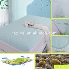 waterproof flat bird eye bed sheet