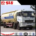 Camc 4 ejes 8 * 4 cemen polvo camión de transporte, Camión cisterna remolque para polvo de transporte gratuito
