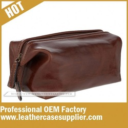 Dop Kits Leather Bag Manufacturer In China