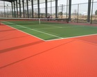 Color Patterned Sports Grounds Surface Installing Materials, EPDM Granules