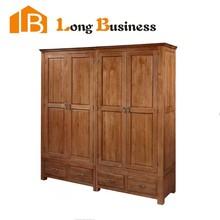 LB-JX3037 Solid wood bedroom wardrobe