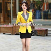 HFR-T633 New classic cotton women suits ladies formal blazer suits designs