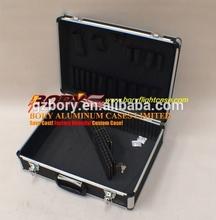 ALuminum frame ABS plastic box tool case