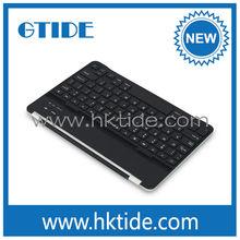 2014 hot selling wireless bluetooth 3.0 keyboard aluminum keyboard for apple ipad air