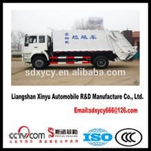 China brand Swing Arm Garbage truck Hermetic Garbage Truck