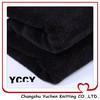 terry black coral fleece cheap textile fabric