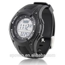 Unique stylish digital silicone wrist watch with sport calculator