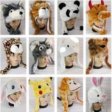novelty panda shape hat,cute animal shape hat,fashion women winter hat with earflap