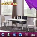 2014 venda quente tmarble projetos mesa inox mesa de jantar