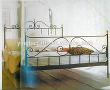 Elegant Iron Bed New Metal bed 2014