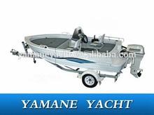 all welded aluminum fishing boat for sale v hull