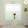 beautiful curtain design anycolor voile curtain door window curtain