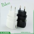 venda superior universal travel carregador de energia usb adaptador ac