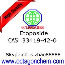 High Purity Etoposide 33419-42-0