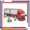 Sluban Building blocks M38-B0338 Concrete Block Set 3D Construction Brick Toys of Turcks for Kids