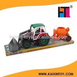 10199359 Best selling friction plastic farm toy tractors for children EN71/7P