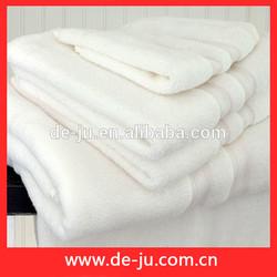 Promotion Plain White Hotel Balfour Towel 100% Cotton Bleach Proof Salon