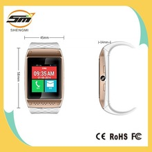 Factory cost android 4.2 smart hand watch mobile phone with touch screen gps