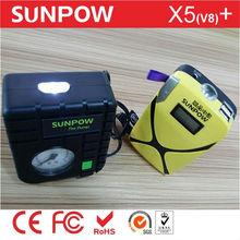 SUNPOW X5 mini super portable power booster tire pump