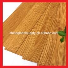 cheap vinyl pvc flooring /pvc floor /wood looking vinyl plank tile click design