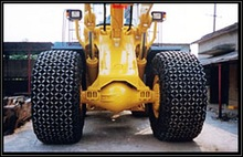 Alibaba express metal chain for OTR tire 33.00R51