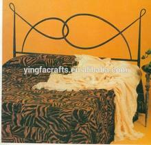 Hot sale modern bedroom furniture metal bed