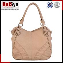 100% genuine leather modern stylish female shoulder bag