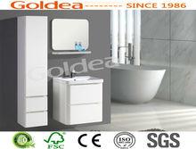 new classic furniture ceramic waterproof paint modern bathroom vanity