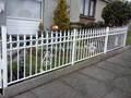 Modern jardim cercas e portões, cerca de aço portões grill design, pó revestido de aço da cerca e portão