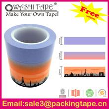 Hot sale waterproof decoration custom Japanese washi tape