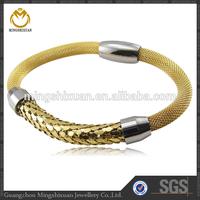Fashion Accessories Cheap IPG women's jewelry indian plain 18k Gold Bracelet Bangle