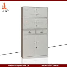 high gloss Stainless Inspired 5 year warranty steel filing clothes locker storage skin care office furniture tall metal cabinet