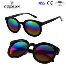 Classic Round Orange Lens Wholesale Vintage Sunglasses