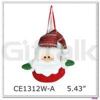 santa design cheap christmas ornaments wholesale