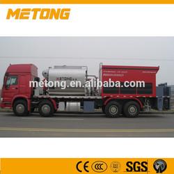 Euro 4 Metong Spraying Bitumen And Aggregate Bitumen LMT5314TFC Bitumen Synchronous chip sealer Spraying Bitumen And Aggregate