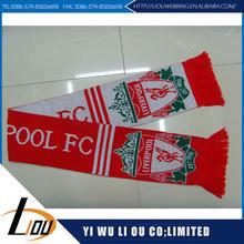 Lowest price high quality 2014 football muffler scarf