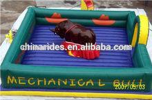 สวนสนุกrideinflatableกระทิงแดงสำหรับการขาย